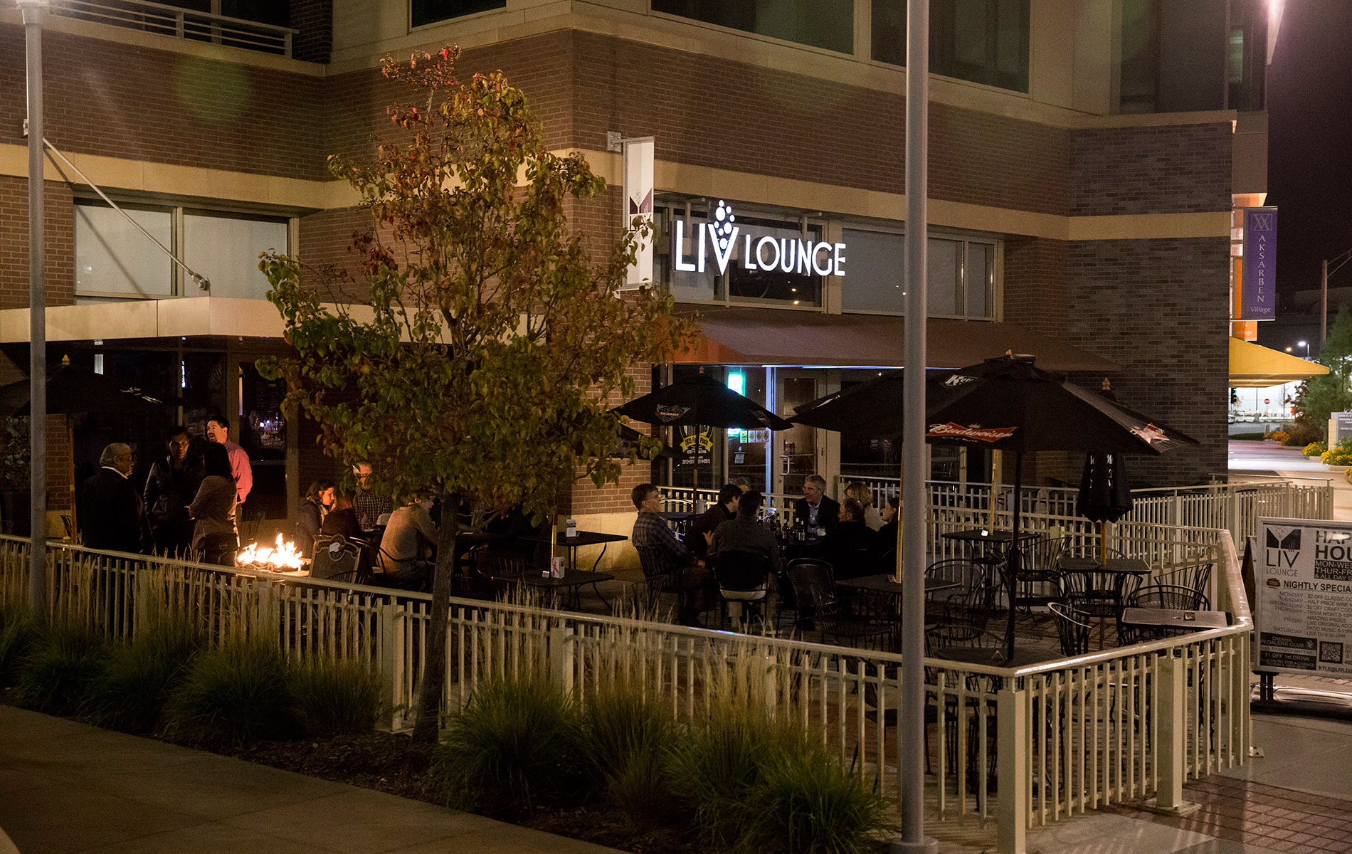 The LIV Lounge Patio